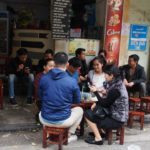 Noodle shops and coffee shops are plentiful in Vietnam